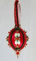 Main view of ornament